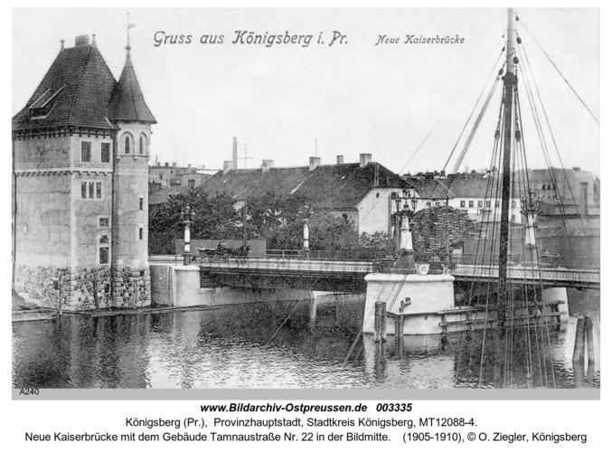 Königsberg, Neue Kaiserbrücke