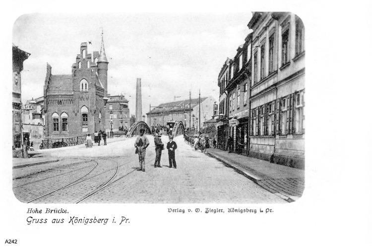 Königsberg, Hohe Brücke