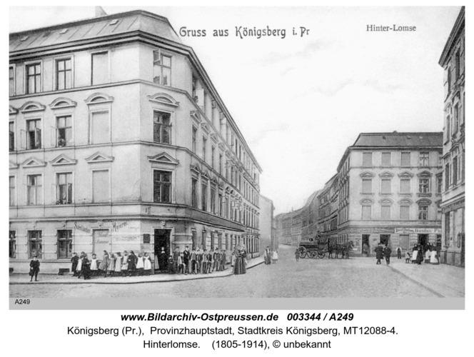Königsberg, Hinterlomse
