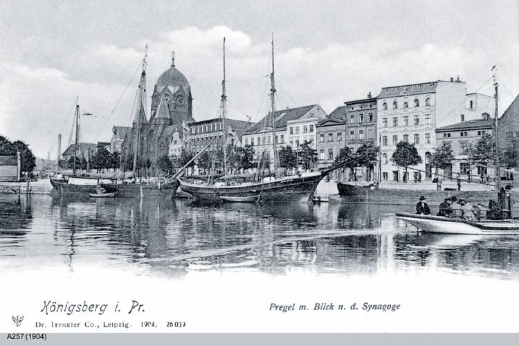 Königsberg, Pregel, Synagoge