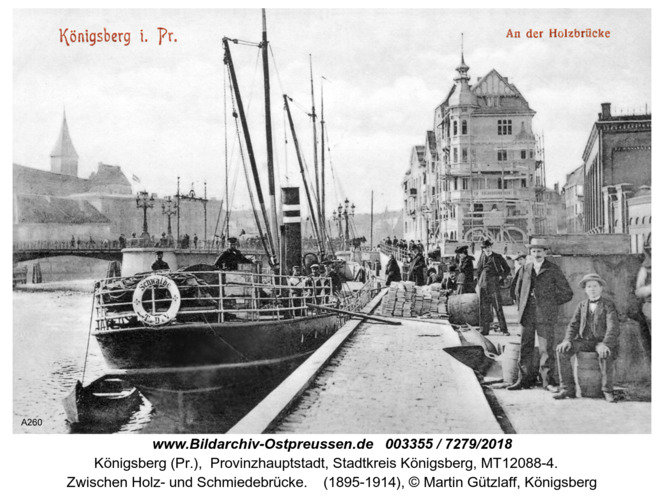 Königsberg, An der Holzbrücke