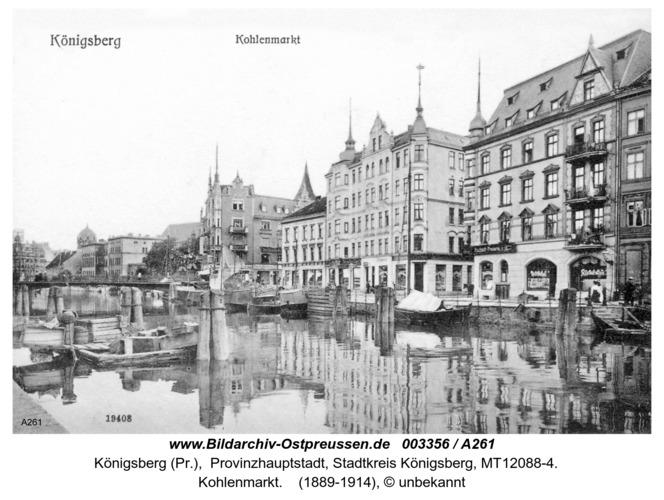 Königsberg, Kohlenmarkt