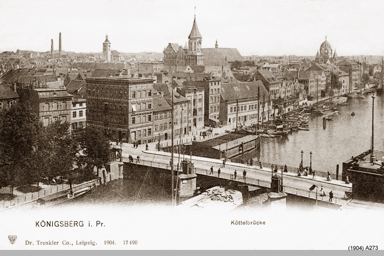 Königsberg, Köttelbrücke