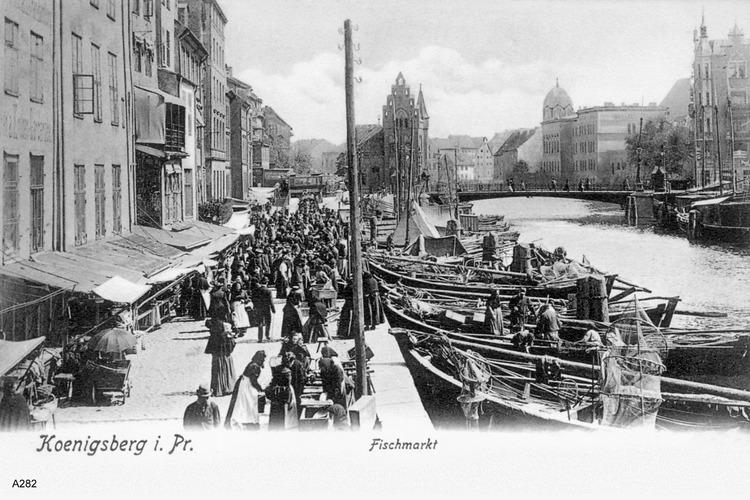 Königsberg, Fischmarkt