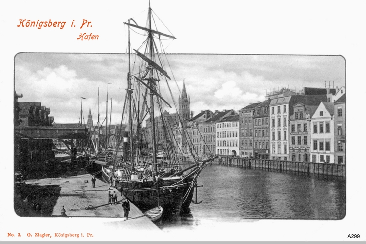 Königsberg, Hafen, Hundegatt