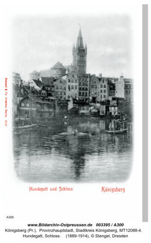 Königsberg, Hundegatt, Schloß