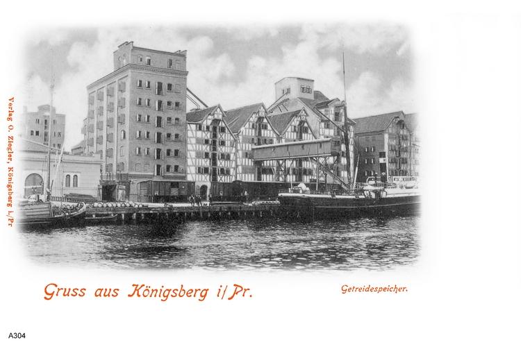 Königsberg, Getreidespeicher