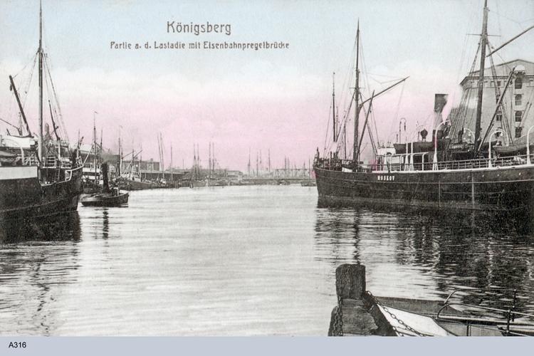 Königsberg, Hafen, Lastadie