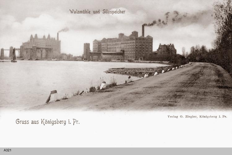 Königsberg, Walzmühle, Silospeicher