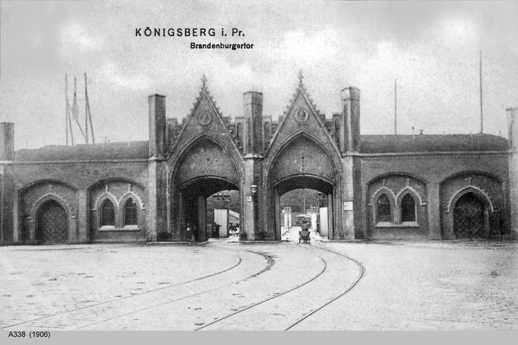 Königsberg, Brandenburger Tor