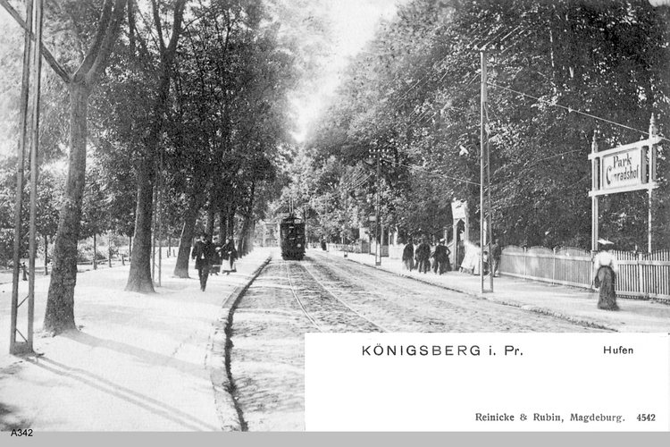 Königsberg, Hufen, Park Conradshof