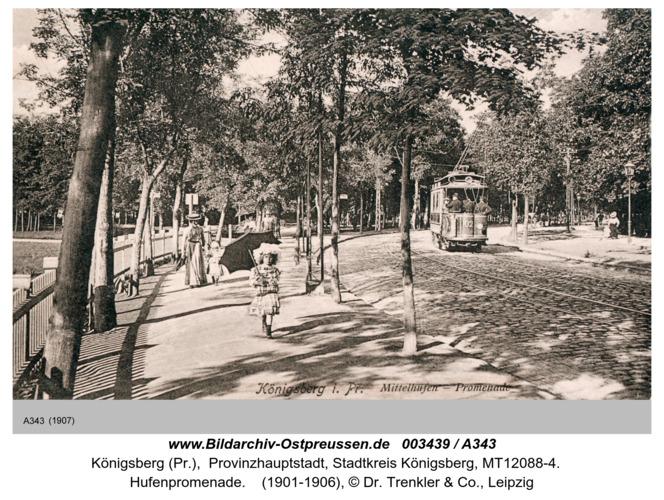 Königsberg, Hufenpromenade
