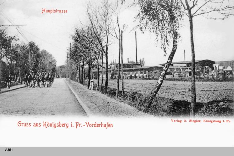 Königsberg, Vorderhufen