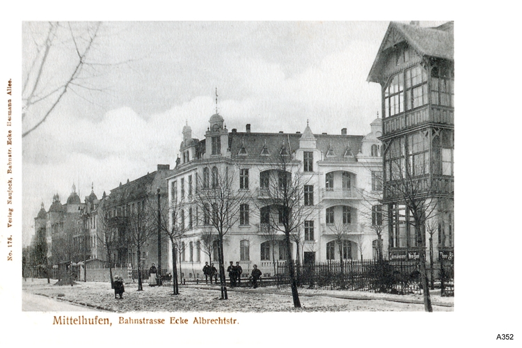 Königsberg, Mittelhufen