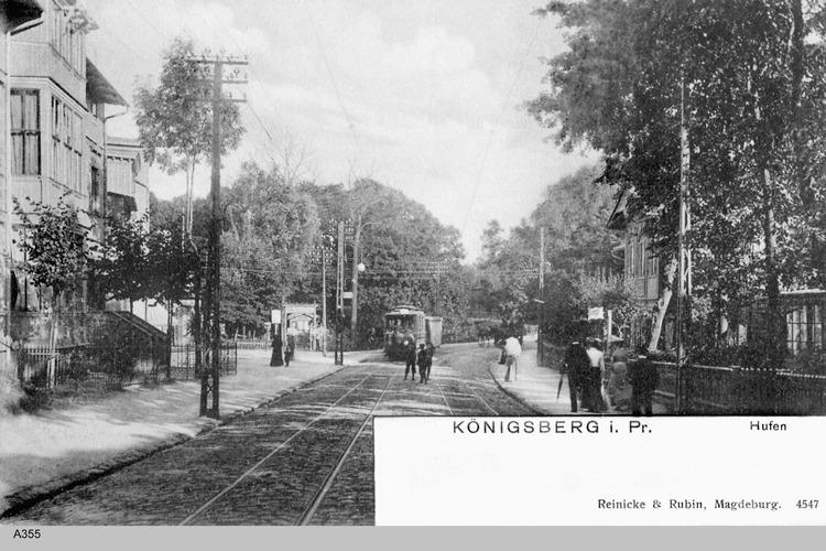 Königsberg, Hufen