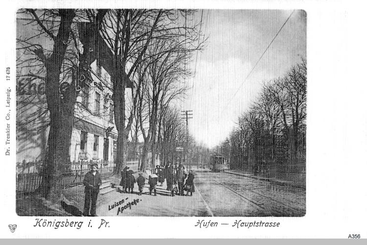 Königsberg, Hufen, Luisen Apotheke