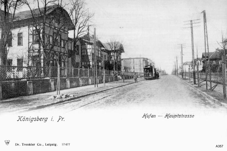 Königsberg, Hufen- Allee