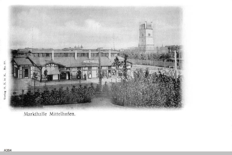 Königsberg, Mittelhufen, Markthalle