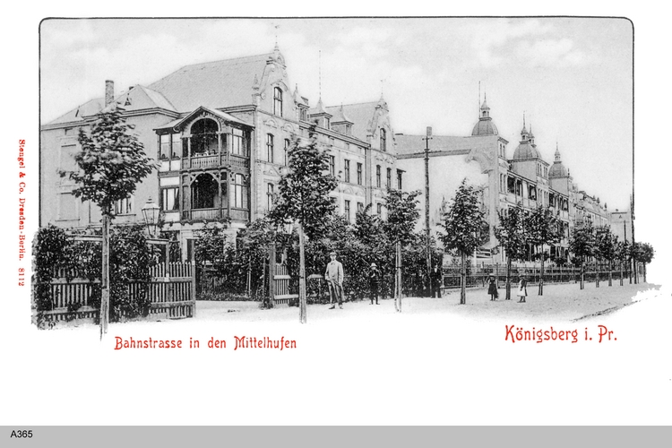 Königsberg, Mittelhufen, Bahnstraße