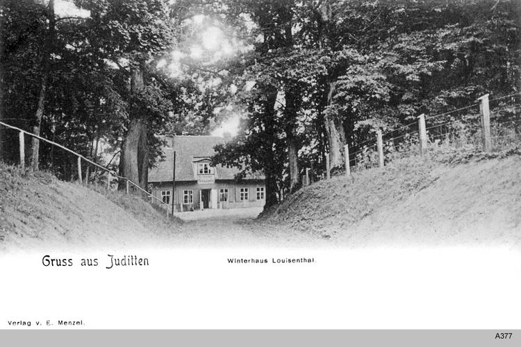 Juditten Kr. Königsberg, Winterhaus Louisenthal