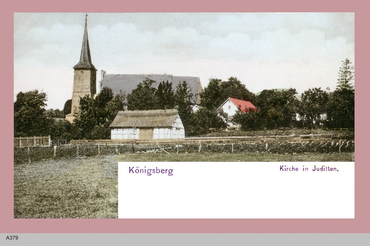 Juditten Kr. Königsberg, Blick auf die Kirche