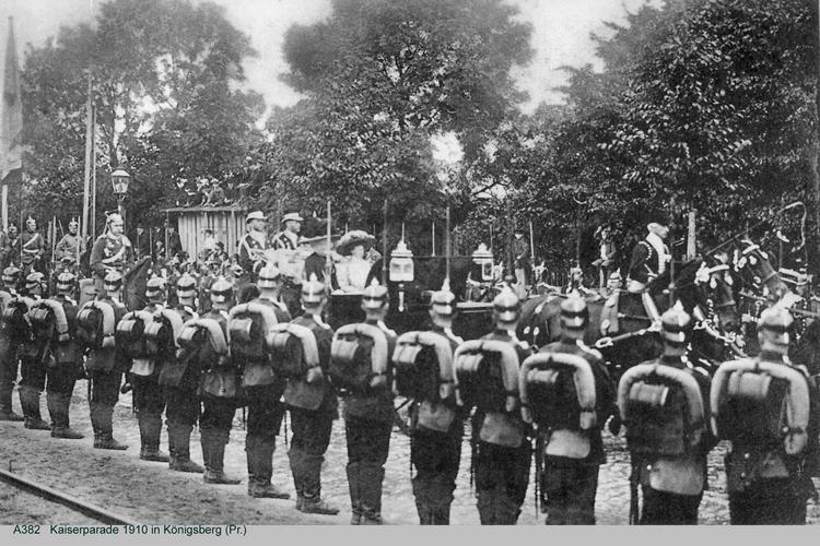 Königsberg, Kaiserparade
