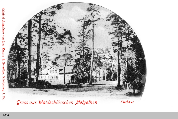 Königsberg, Metgethen Kurhaus