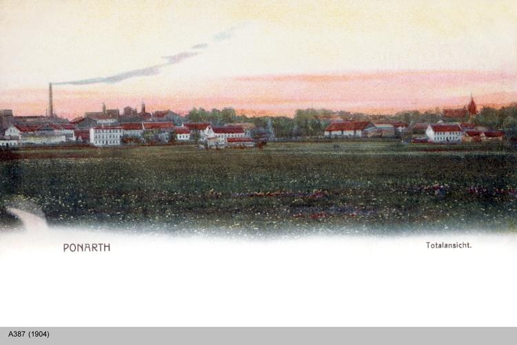 Königsberg, Ponarth Totalansicht