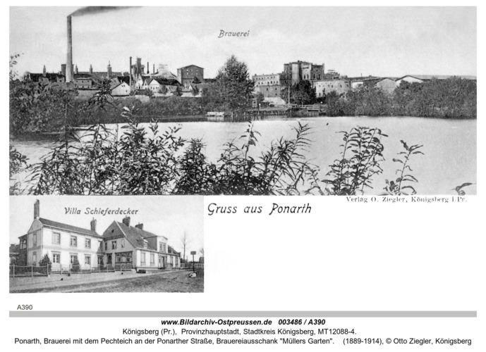 Königsberg, Ponarth Brauerei