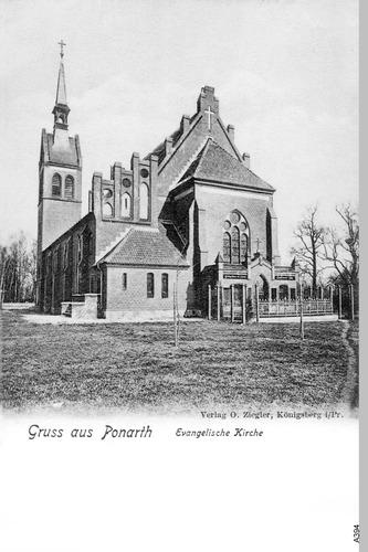 Königsberg, Ponarth Ev. Kirche