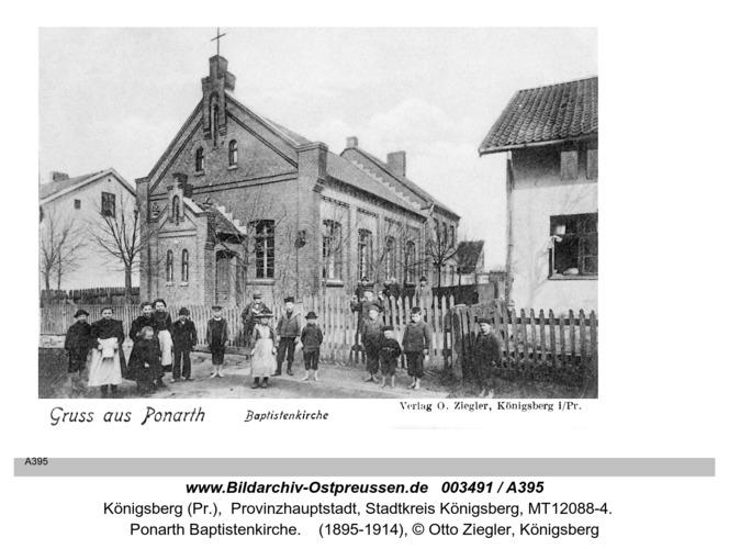 Königsberg, Ponarth Baptistenkirche