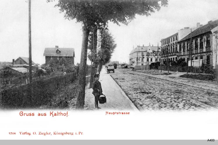 Königsberg, Kalthof Hauptstraße