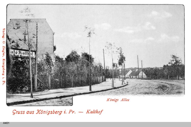 Königsberg, Kalthof Königsallee