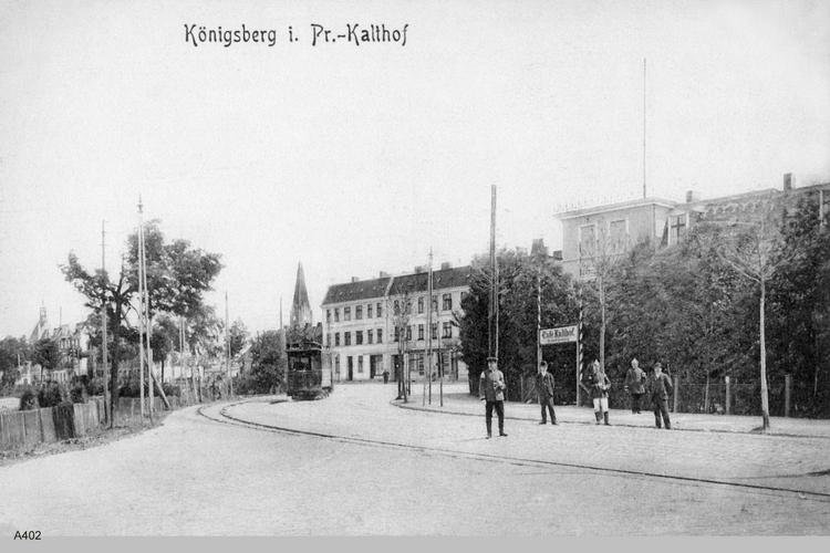 Königsberg, Kalthof Cafe
