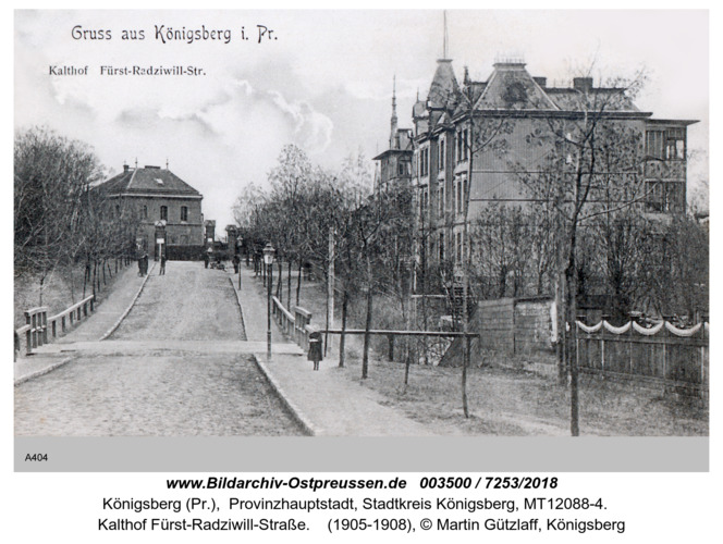 Königsberg, Kalthof Fürst- Radziwillstraße