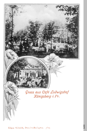 Königsberg, Cafe Ludwigshof