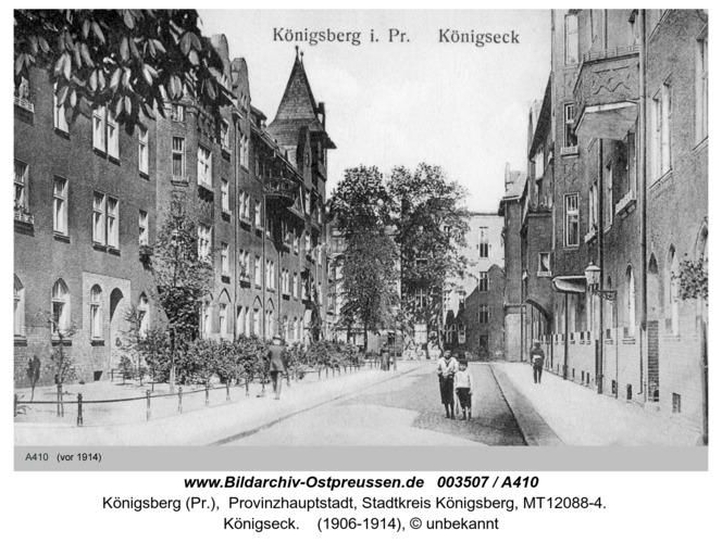 Königsberg, Königseck