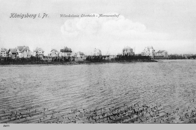 Königsberg, Villenkolonie Oberteich-Maraunenhof