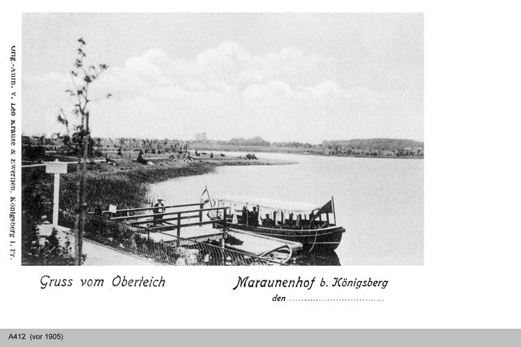 Königsberg, Oberteich Maraunenhof