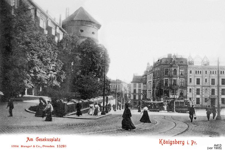 Königsberg, Am Gesekusplatz