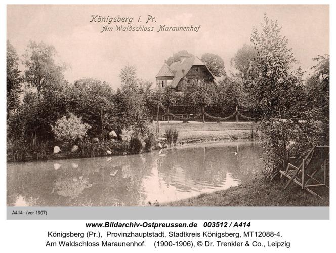 Königsberg, Am Waldschloss Maraunenhof