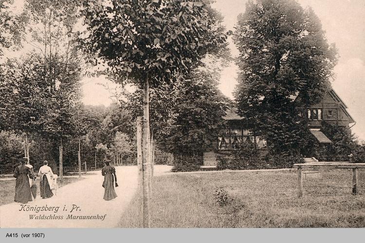 Königsberg, Waldschloss Maraunenhof