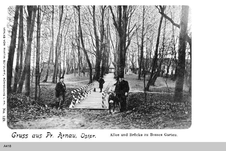 Arnau, Bosses Garten
