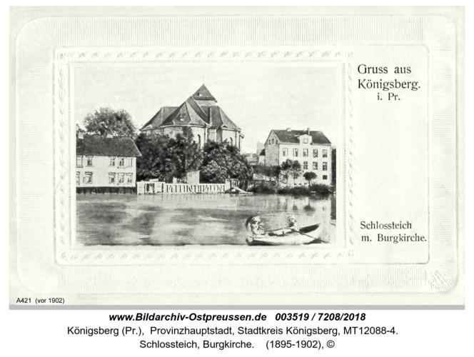 Königsberg, Schloßteich Burgkirche