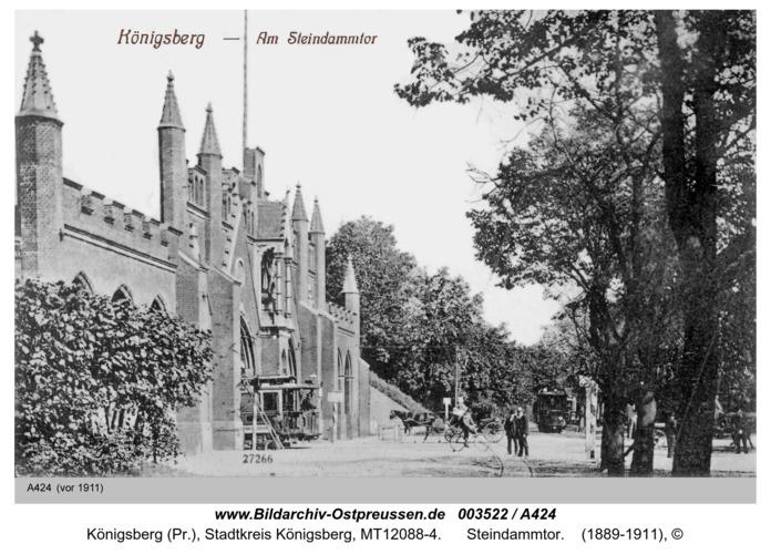 Königsberg, Steindammtor