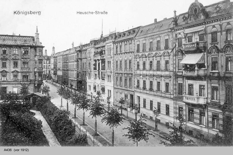 Königsberg, Hensche Straße