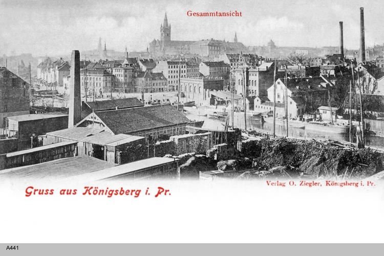 Königsberg, Gesamtansicht