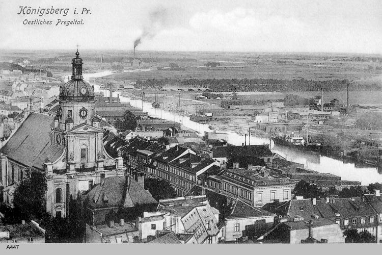 Königsberg, Katholische Kirche und Östliches Pregeltal