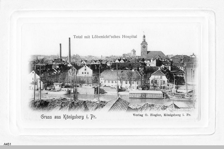 Königsberg, Löbenicht'sches Hospital