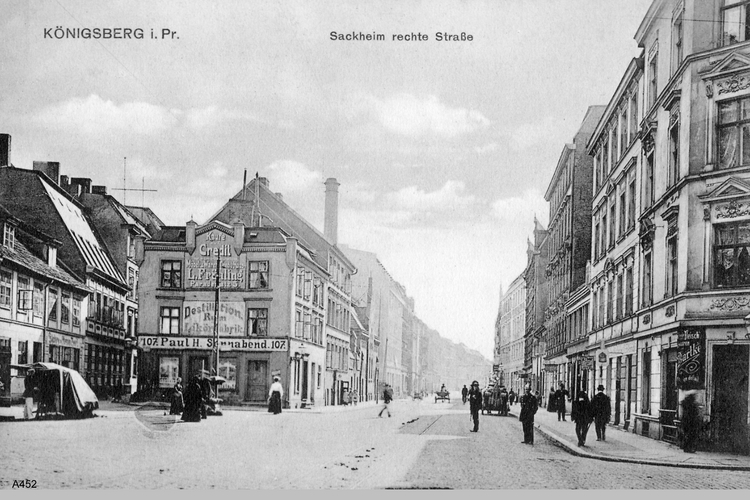 Königsberg, Sackheim Rechte Straße